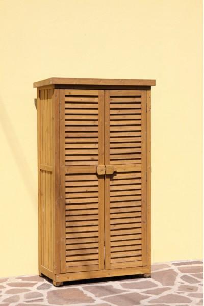 Armadio legno porta attrezzi mobile da esterno 53011 ebay - Armadio porta attrezzi da giardino ...