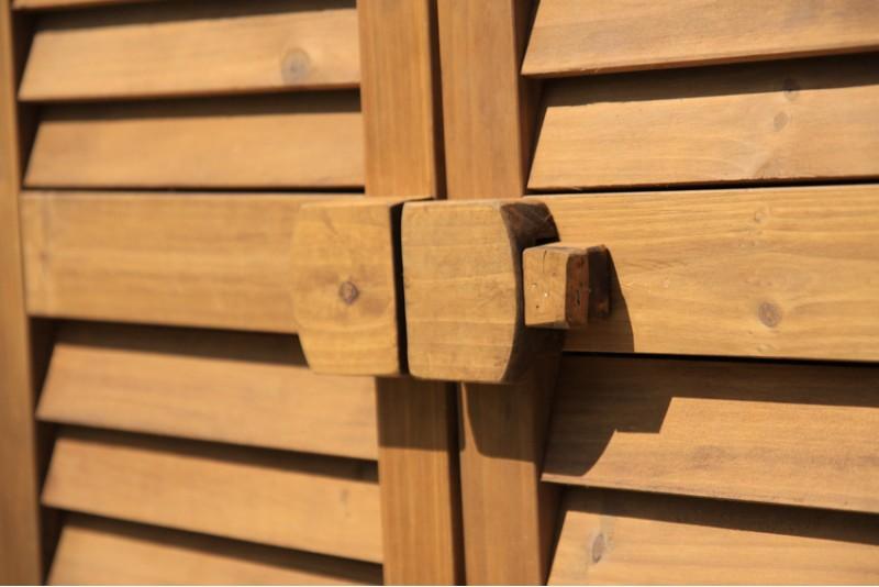 Armadio legno porta attrezzi mobile da esterno 53011 ebay for Mobile terrazzo legno
