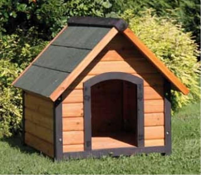 Cuccia per cani 84 x 101 cm in legno accessori animali - Giardino per cani ...