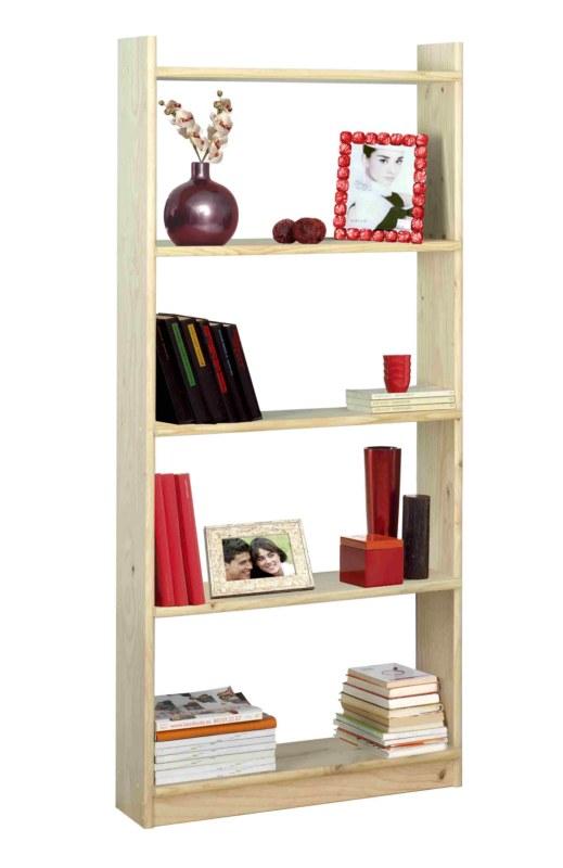 Libreria scaffale con 5 ripiani in legno per arredamento for Ebay arredamento