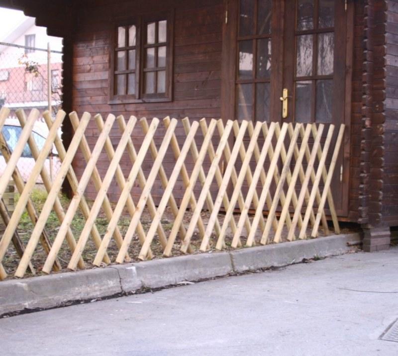 Steccato Estensibile in Legno 250 cm Accessori Recizione Decorazione ...