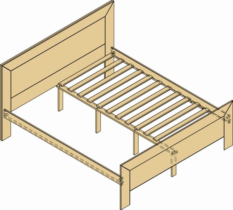 Letto matrimoniale in legno grezzo accessori arredamento casa interni ebay - Letto in legno grezzo ...