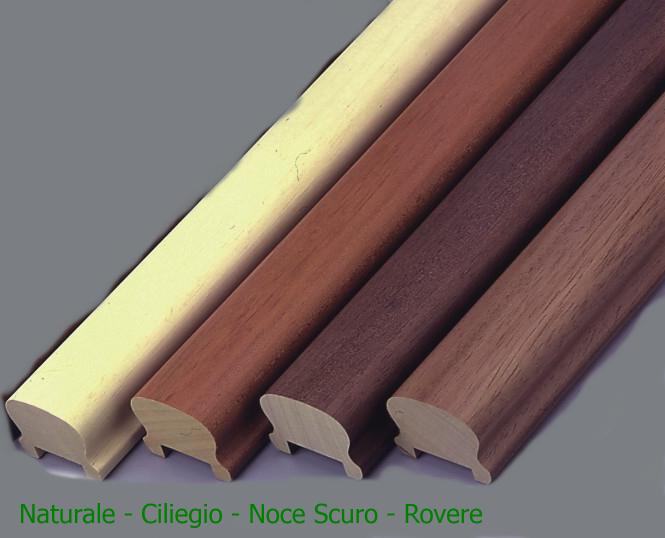 Corrimano 4 4x6 0x300 cm per scala in legno sagomato vari for Scale in legno fai da te