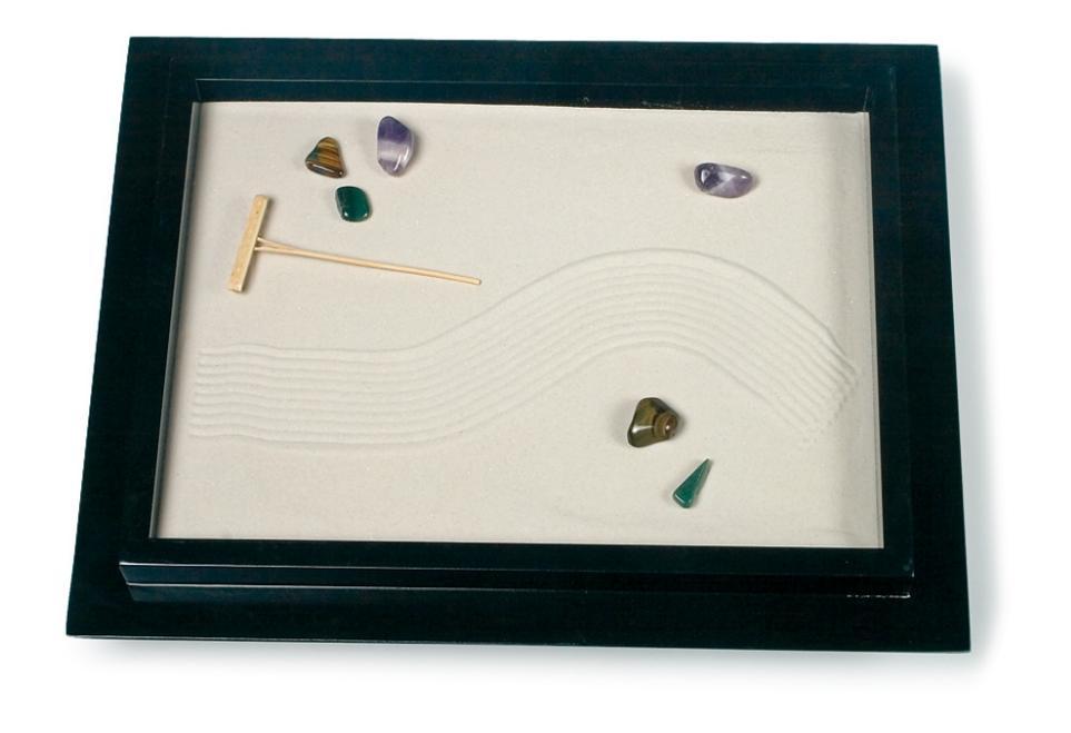 Giardino zen colore nero 46 36 cm idea regalo for Regalo materassi usati