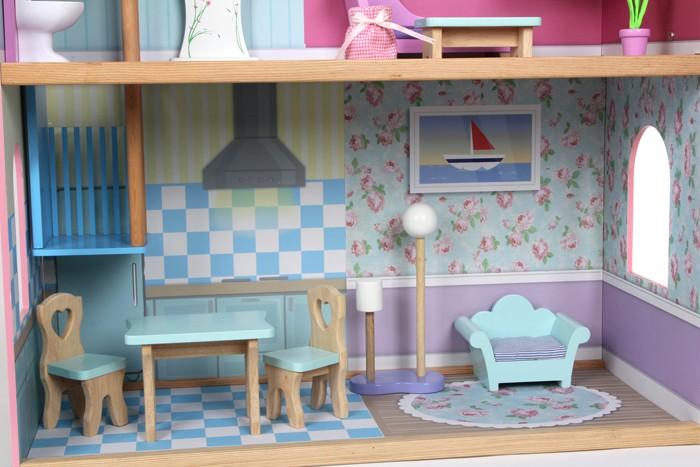 Casa delle Bambole Sophia su 3 Piani con 15 Accessori per Arredare ...