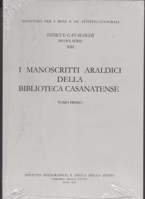 85209 - MANOSCRITTI ARALDICI DELLA BIB. CASANATENSE F3