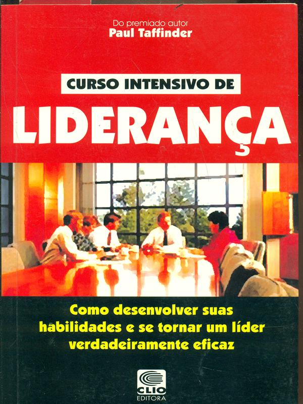 CURSO INTENSIVO DE LIDERANCA  PAUL TAFFINDER CLIO 2000