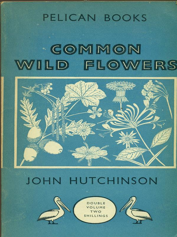 COMMON WILD FLOWERS  JOHN HUTCHINSON PELICAN BOOKS 1948