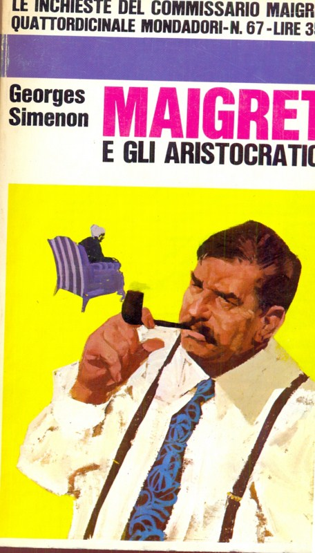 MAIGRET E GLI ARISTOCRATICI GEORGES SIMENON D11