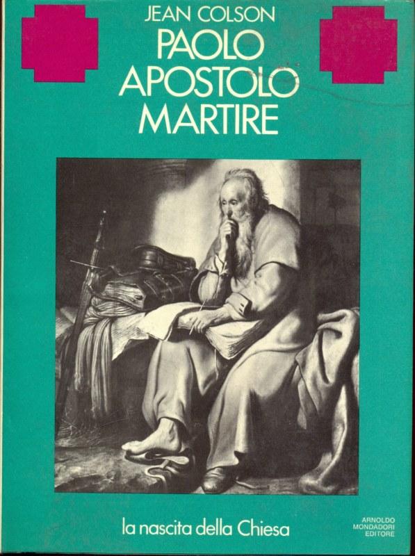 PAOLO APOSTOLO MARTIRE JEAN COLSON A175