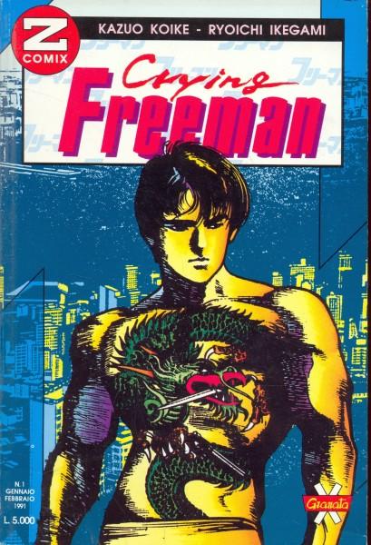 CRYING FREEMAN N. 1 GENNAIO/FEBBRAIO 1991 KAZUO KOIKE - RYUOICHI IKEGAMI A182