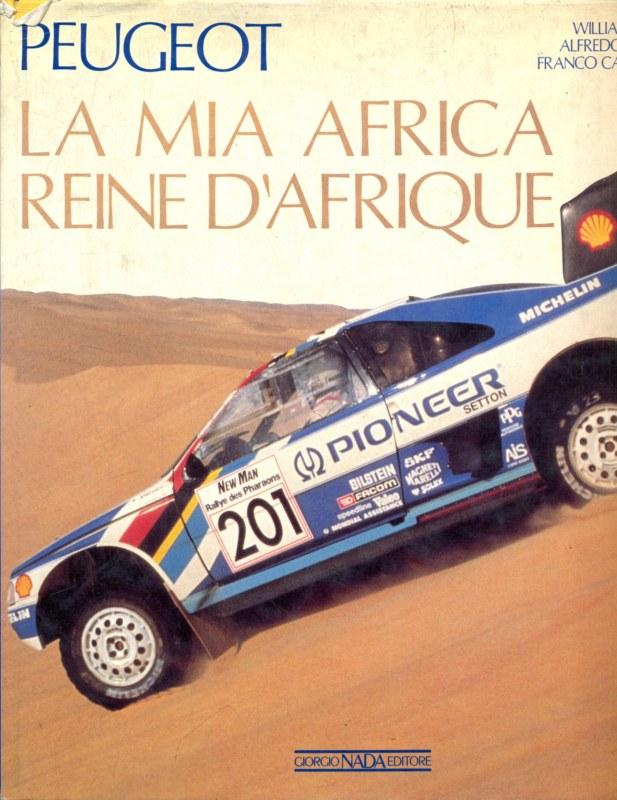 PEUGEOT. LA MIA AFRICA  AA.VV. NADA 1991