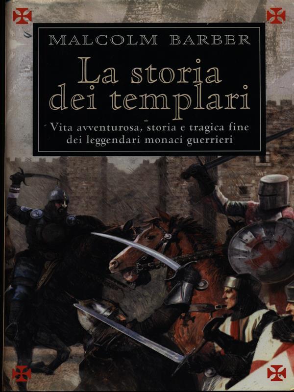 LA STORIA DEI TEMPLARI  BARBER MALCOLM MONDOLIBRI 2003